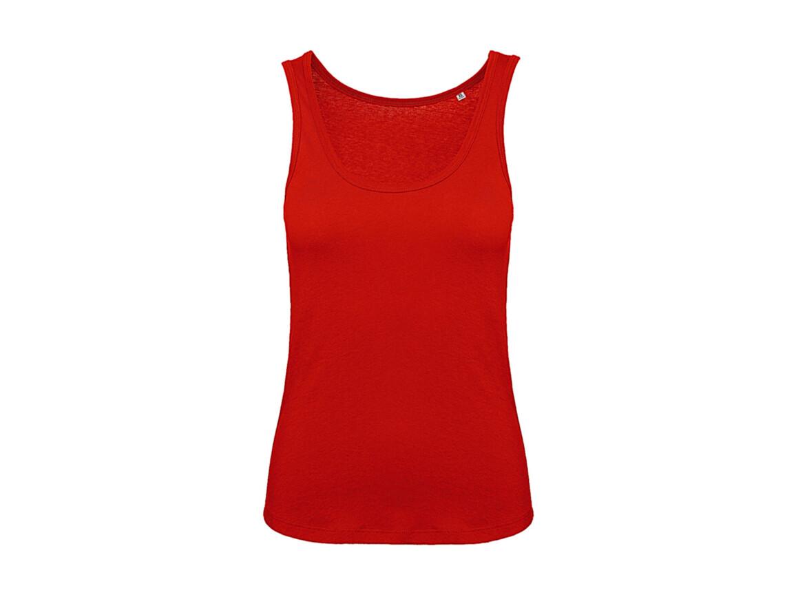 B & C Inspire Tank T /women, Fire Red, L bedrucken, Art.-Nr. 026424075