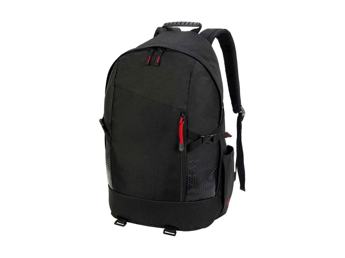 Shugon Hiker Backpack, Black, One Size bedrucken, Art.-Nr. 027381010