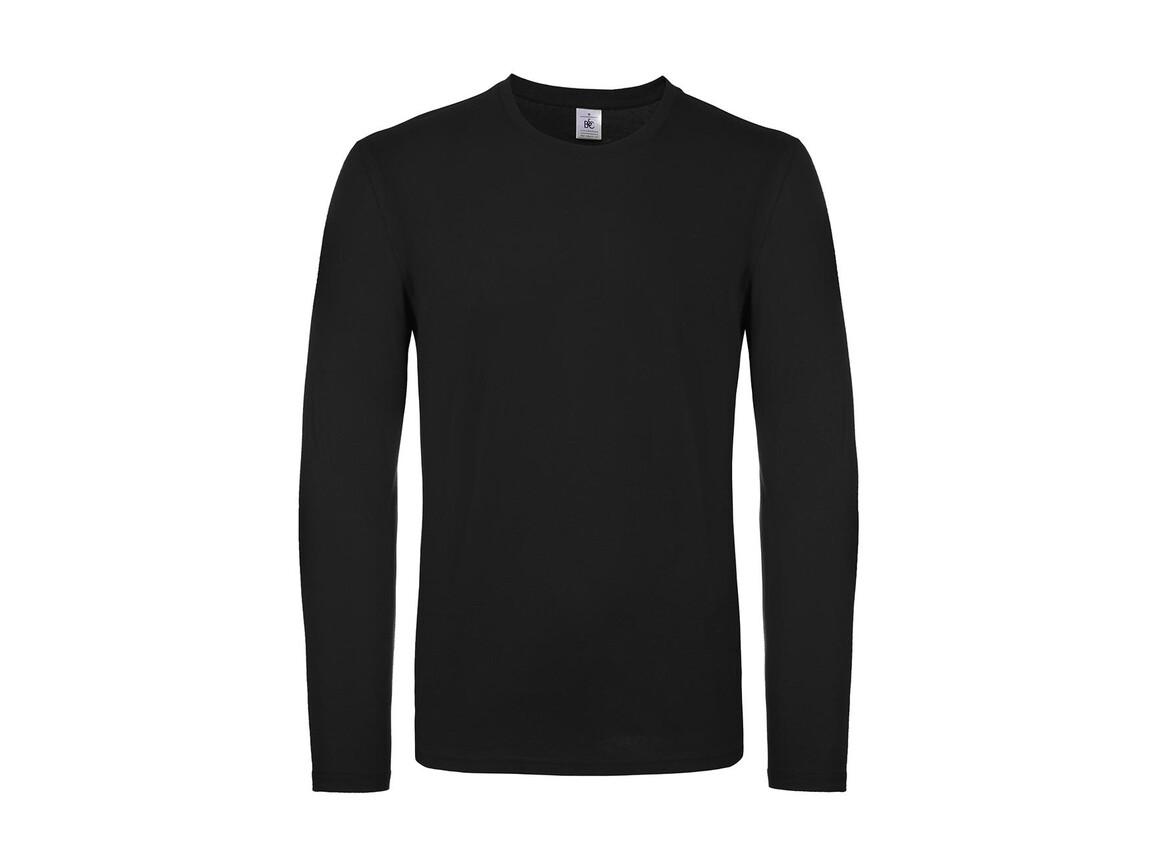 B & C #E150 LSL, Black, XL bedrucken, Art.-Nr. 027421016