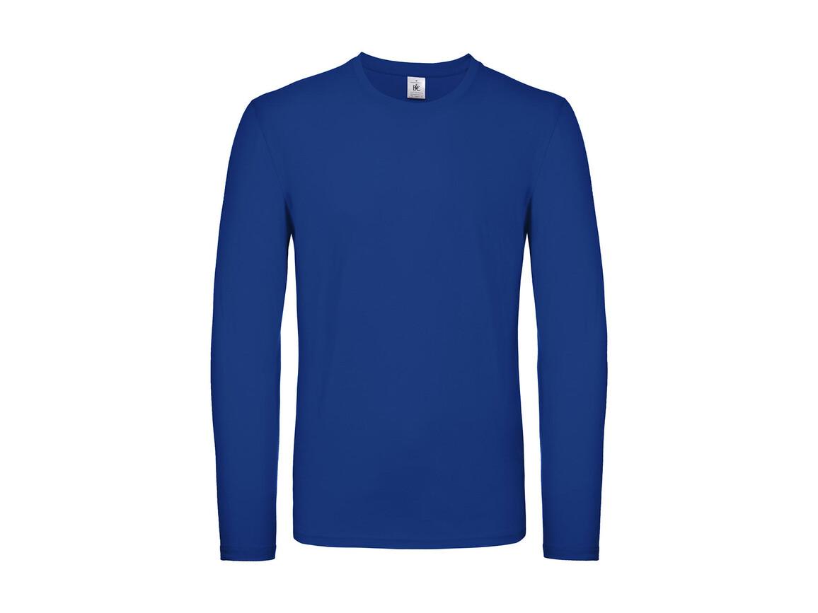 B & C #E150 LSL, Royal Blue, 4XL bedrucken, Art.-Nr. 027423009
