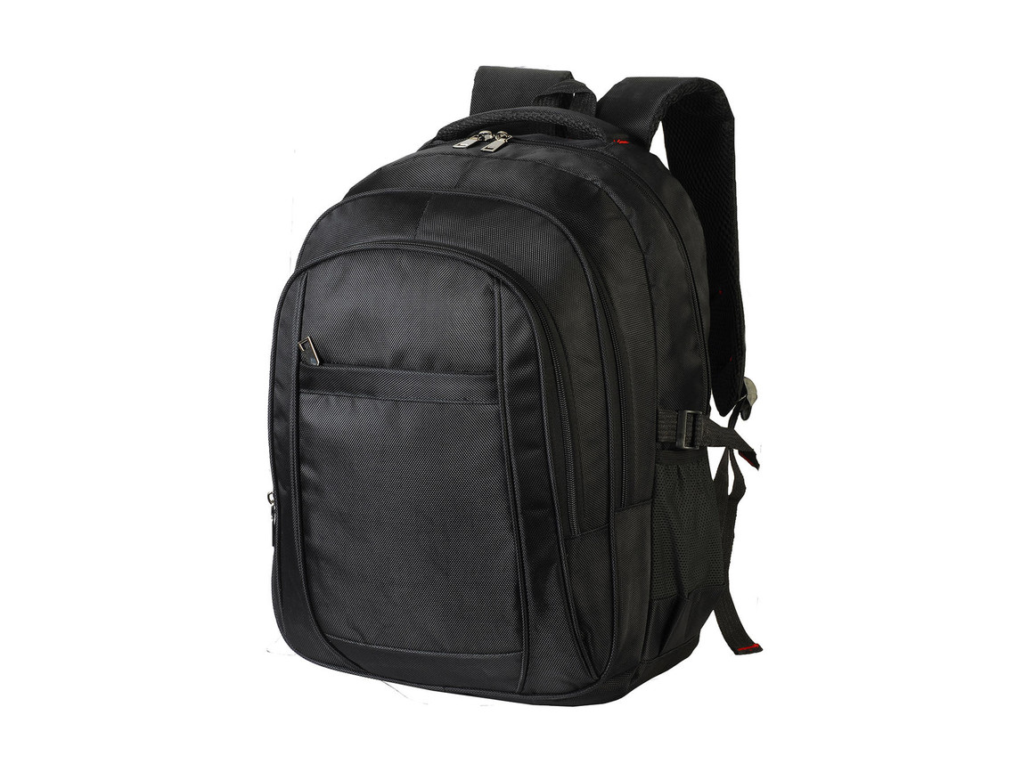 Shugon Laptop Backpack, Black, One Size bedrucken, Art.-Nr. 028381010