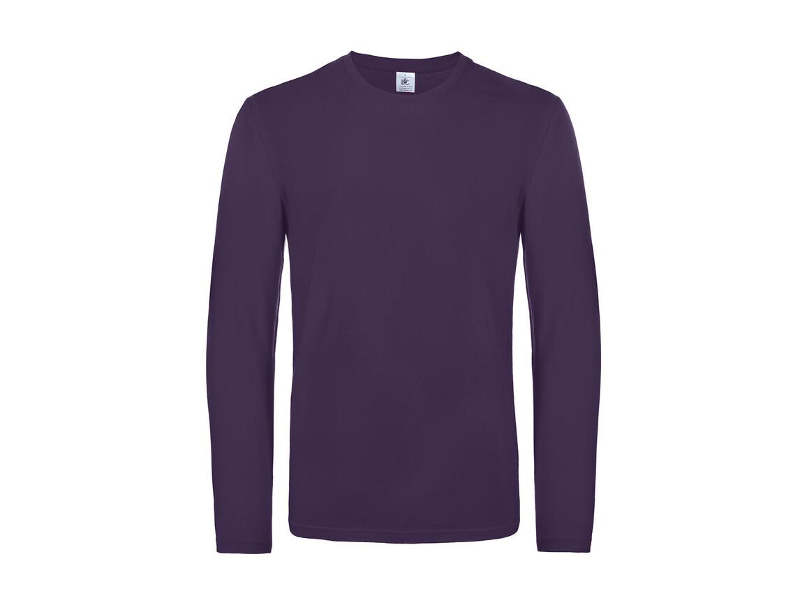 B & C #E190 LSL, Urban Purple, 3XL bedrucken, Art.-Nr. 028423478