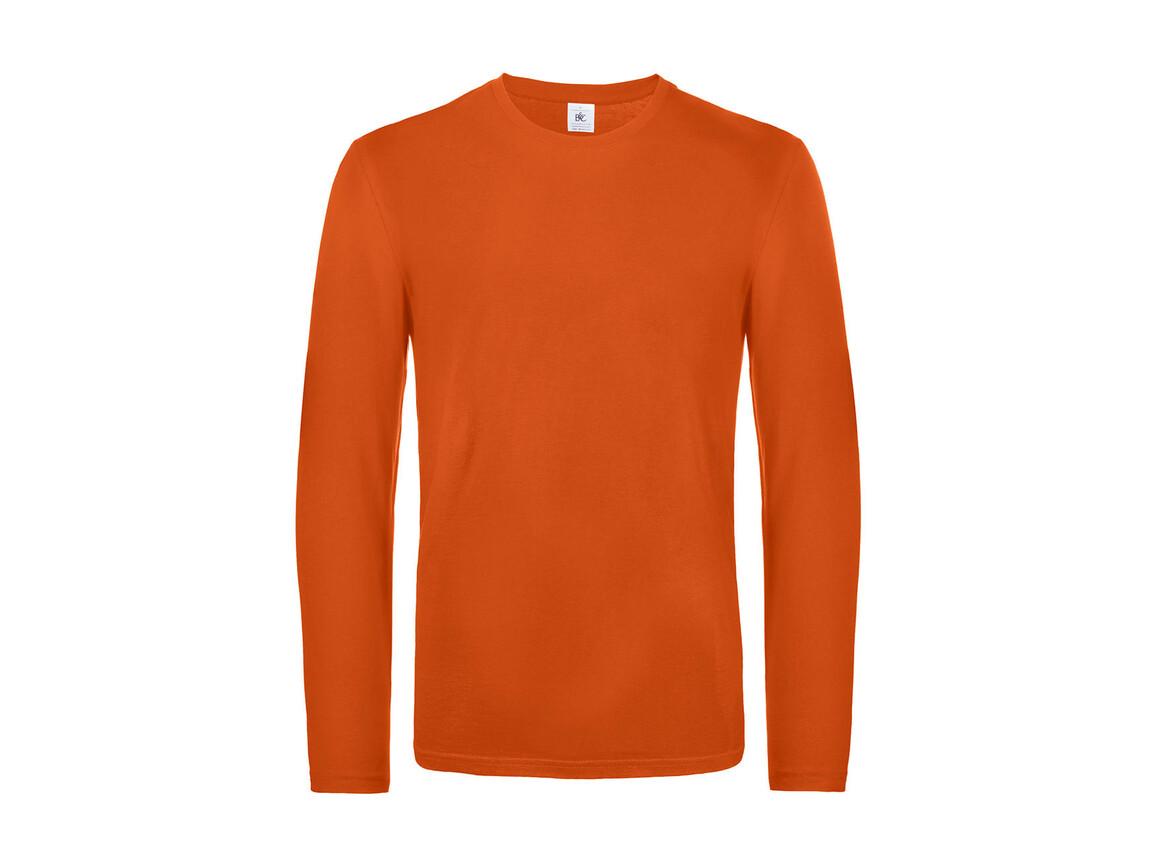B & C #E190 LSL, Urban Orange, L bedrucken, Art.-Nr. 028424095