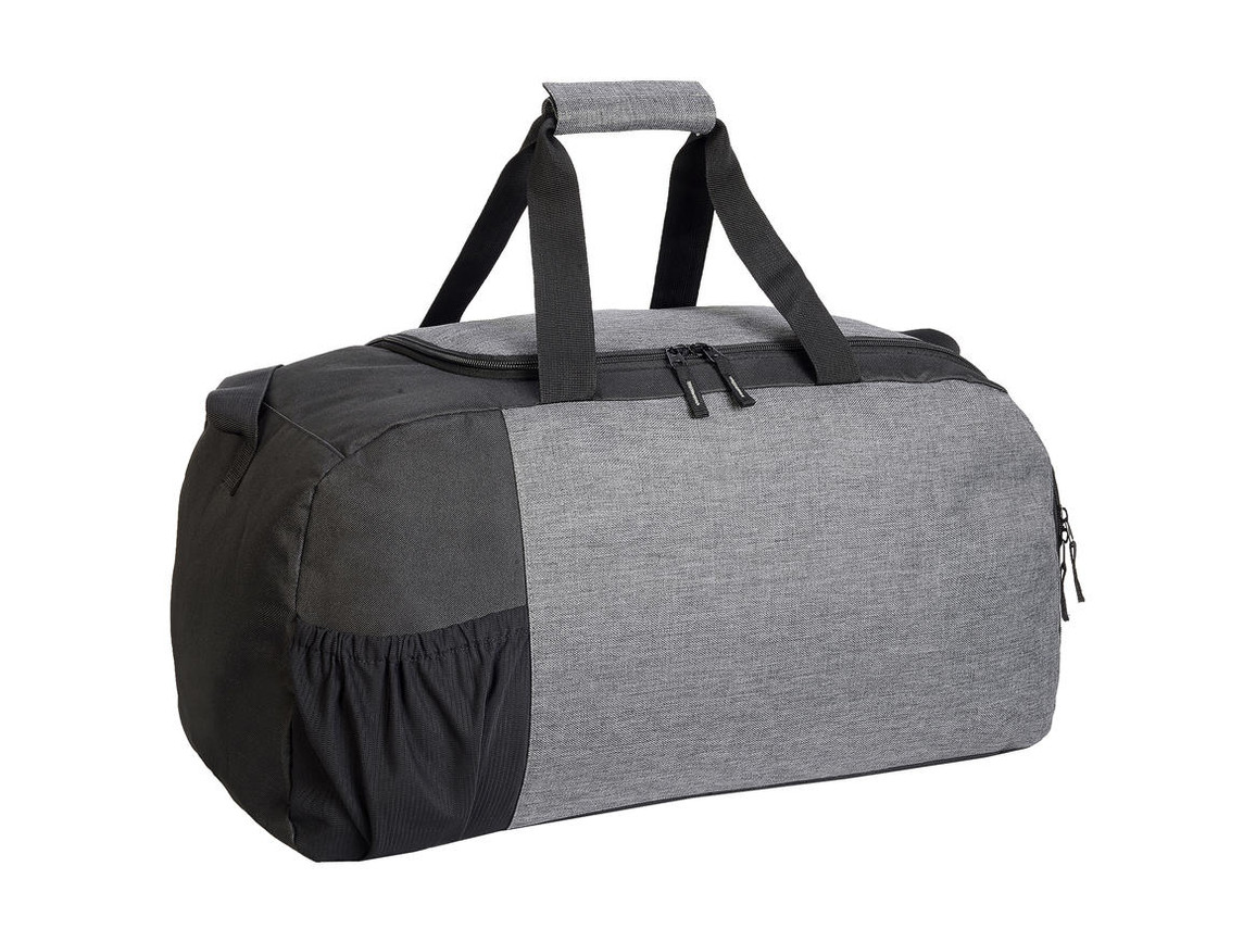 Shugon Marathon Sport Bag, Grey Melange/Black, One Size bedrucken, Art.-Nr. 029381550
