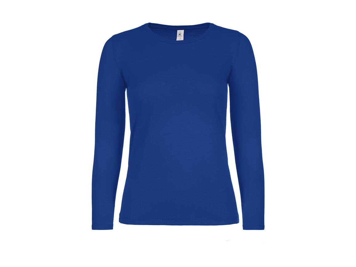 B & C #E150 LSL /women, Royal Blue, M bedrucken, Art.-Nr. 029423004