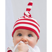 BabyBugz Baby Striped 1 Knot Hat bedrucken, Art.-Nr. 05547