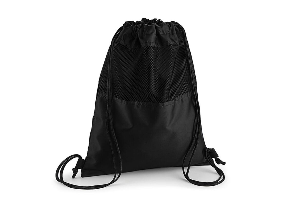 Quadra Mesh Gymsac, Black, One Size bedrucken, Art.-Nr. 067301010