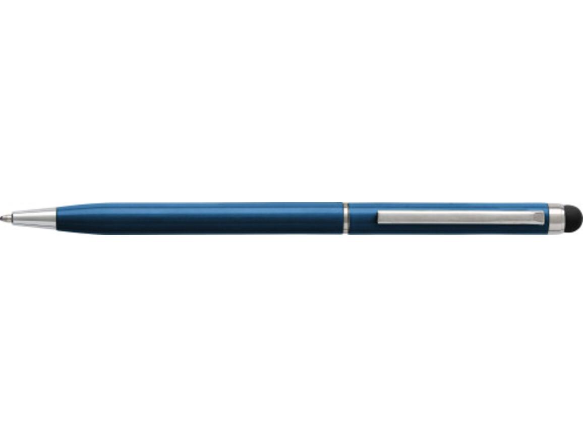 Kugelschreiber 'Sway' aus Aluminium – Blau bedrucken, Art.-Nr. 005999999_3832