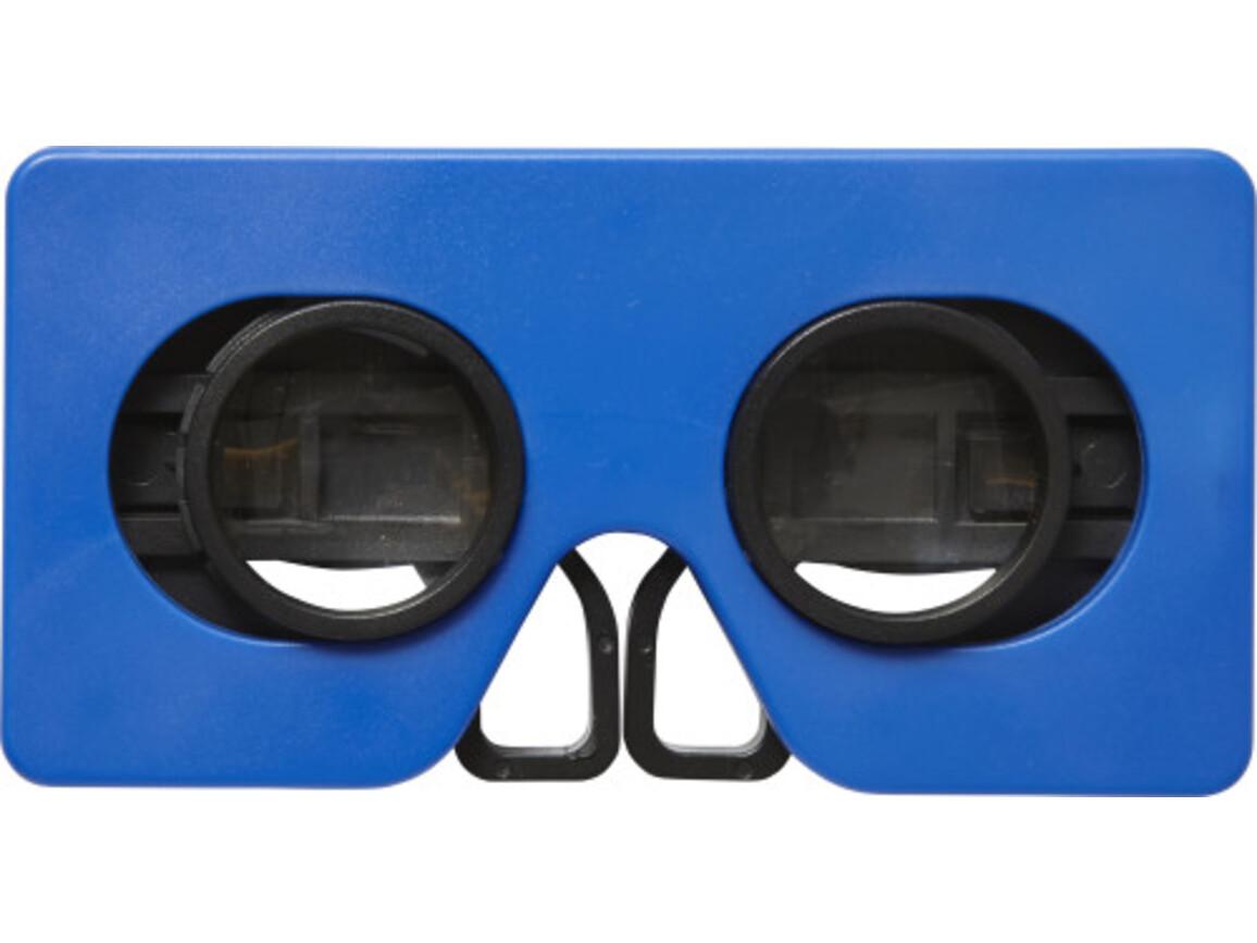 VR-Brille 'Virtual' aus ABS-Kunststoff – Kobaltblau bedrucken, Art.-Nr. 023999999_7928