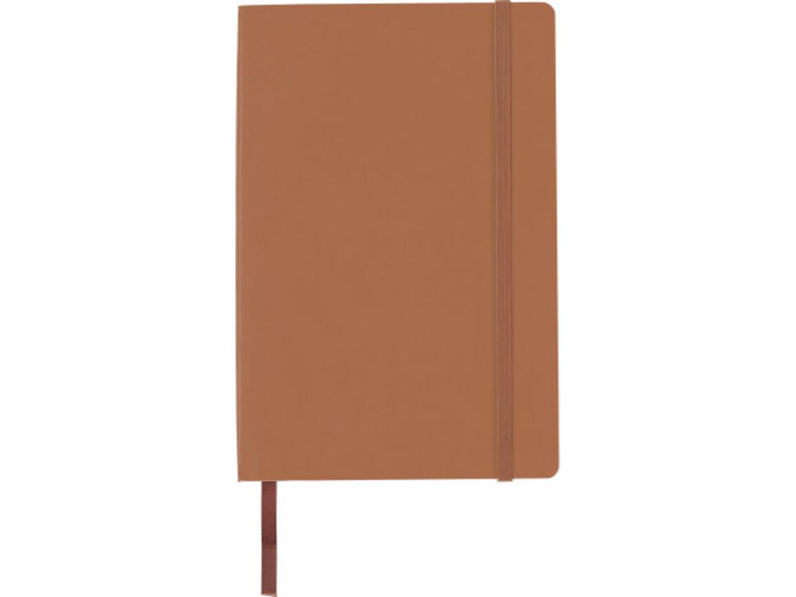 Notizbuch 'Storyteller' aus PU – Braun bedrucken, Art.-Nr. 011999999_8276