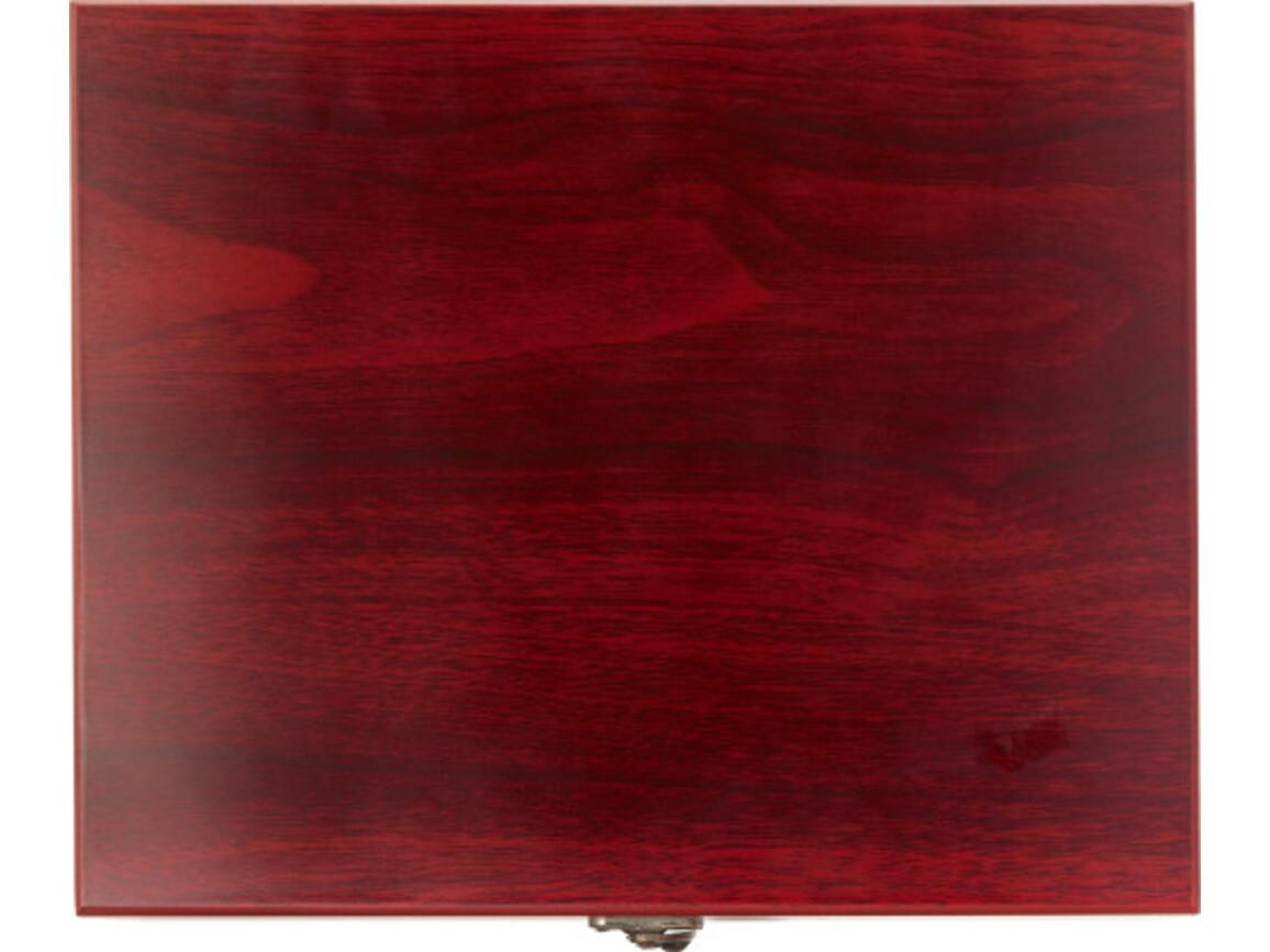 9 teiliges Sommelierset 'Bordeaux' – Braun bedrucken, Art.-Nr. 011999999_8557