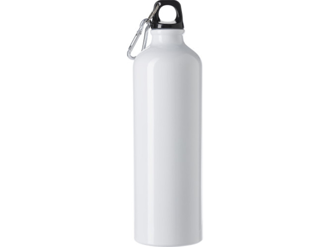 Trinkflasche 'Göteborg' (750 ml) aus Aluminium – Weiß bedrucken, Art.-Nr. 002999999_8695