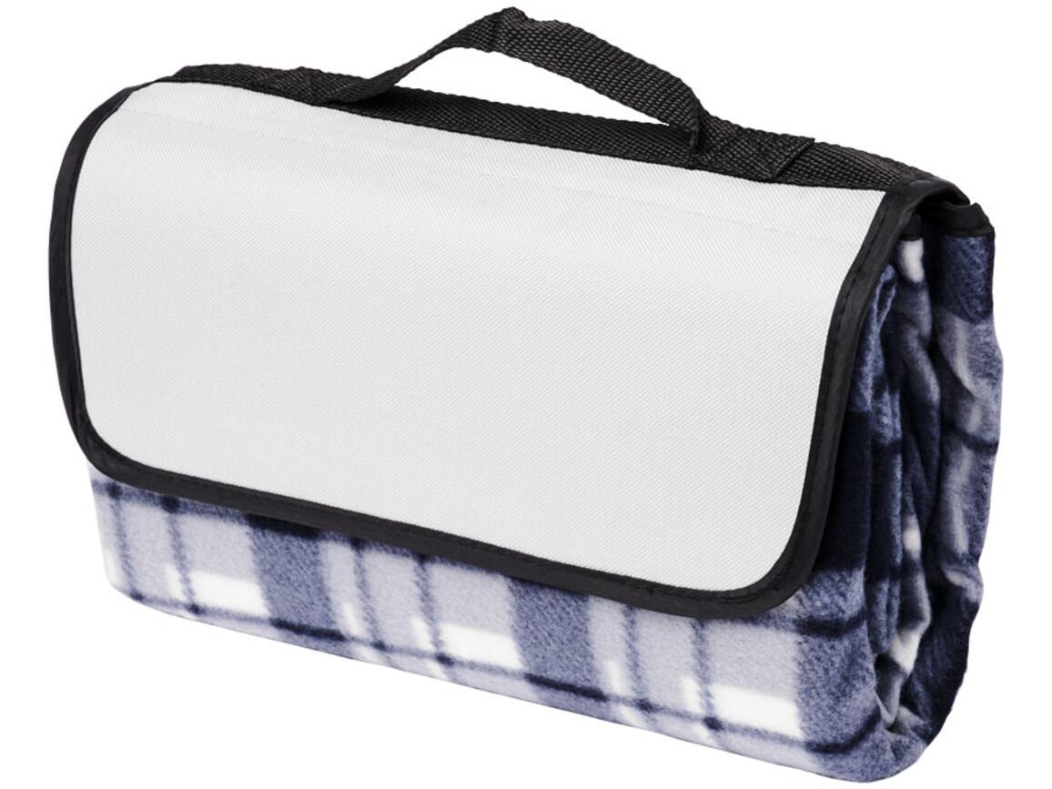 Park Picknickdecke aus Fleece mit Klettverschluss, grau bedrucken, Art.-Nr. 11296101