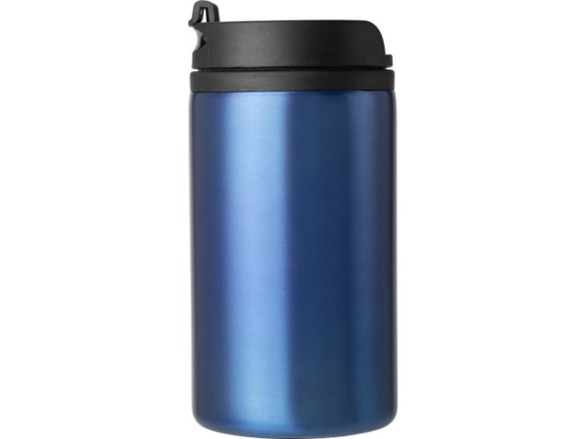 Isolierbecher (300 ml), auslaufsicher – Kobaltblau bedrucken, Art.-Nr. 023999999_8385
