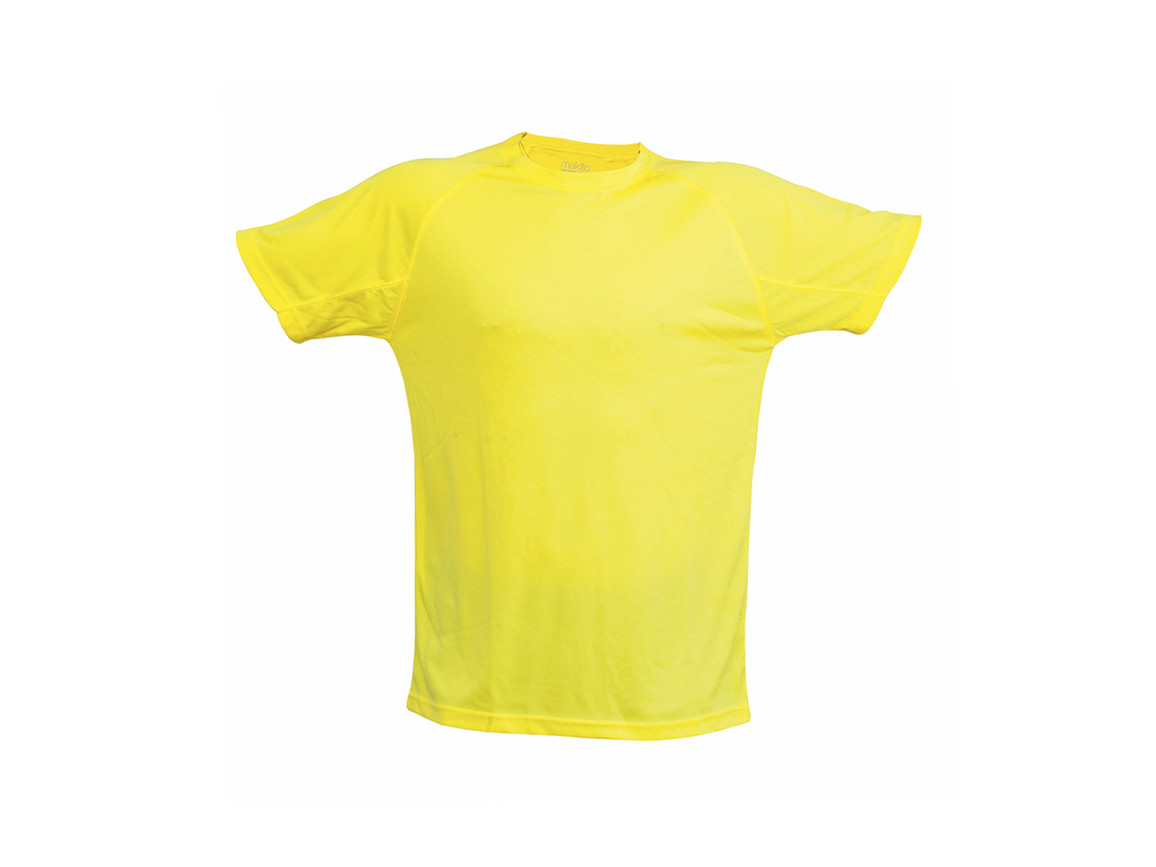 Tecnic Plus - Erwachsene T-Shirt - YELLOW - XL bedrucken, Art.-Nr. 4184AMAXL