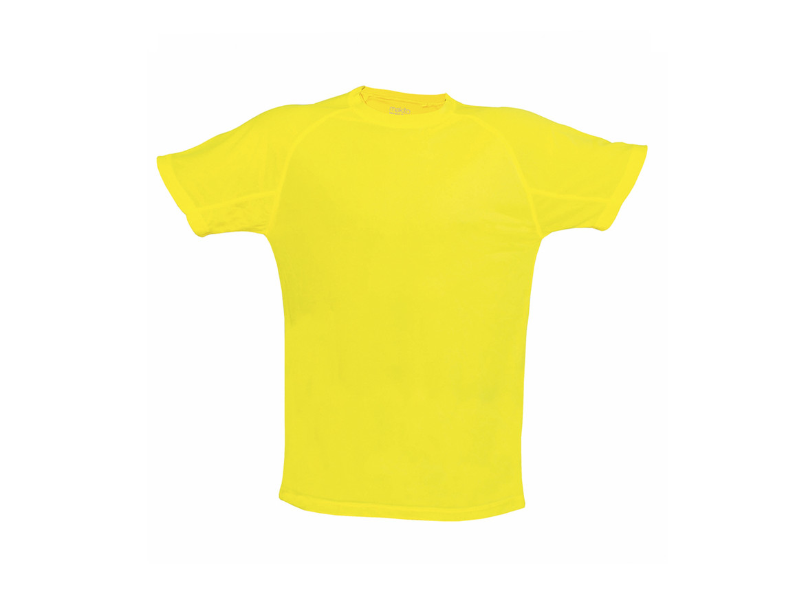 Tecnic Plus - Erwachsene T-Shirt - YELLOW FLUOR - S bedrucken, Art.-Nr. 4184FAMAS
