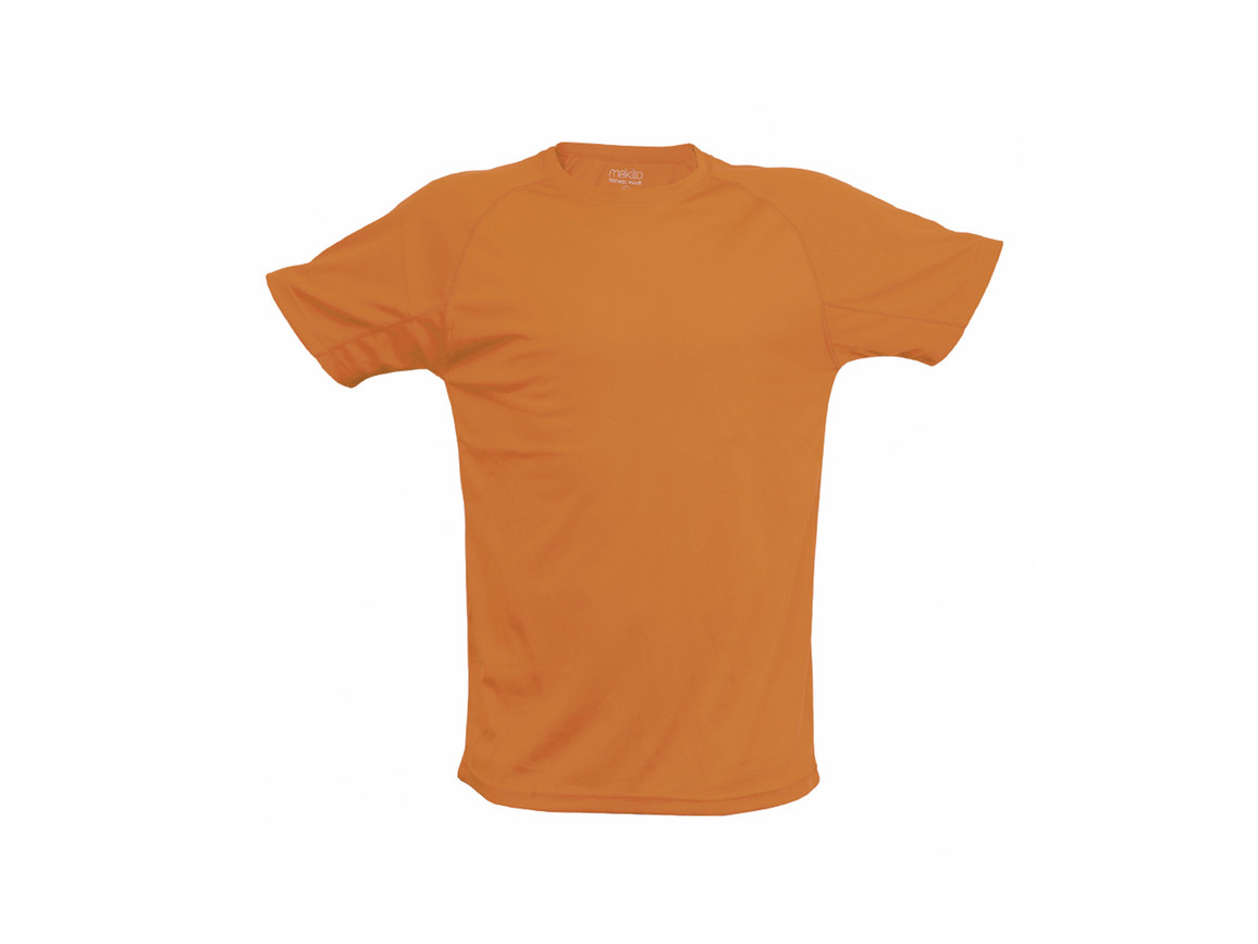 Tecnic Plus - Erwachsene T-Shirt - ORANGE FLUOR - L bedrucken, Art.-Nr. 4184FNARL