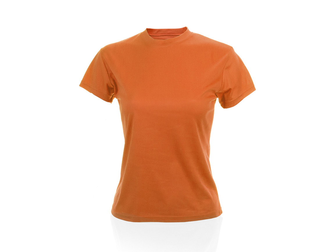 Tecnic Plus - Frauen T-Shirt - ORANGE - M bedrucken, Art.-Nr. 4186NARAM