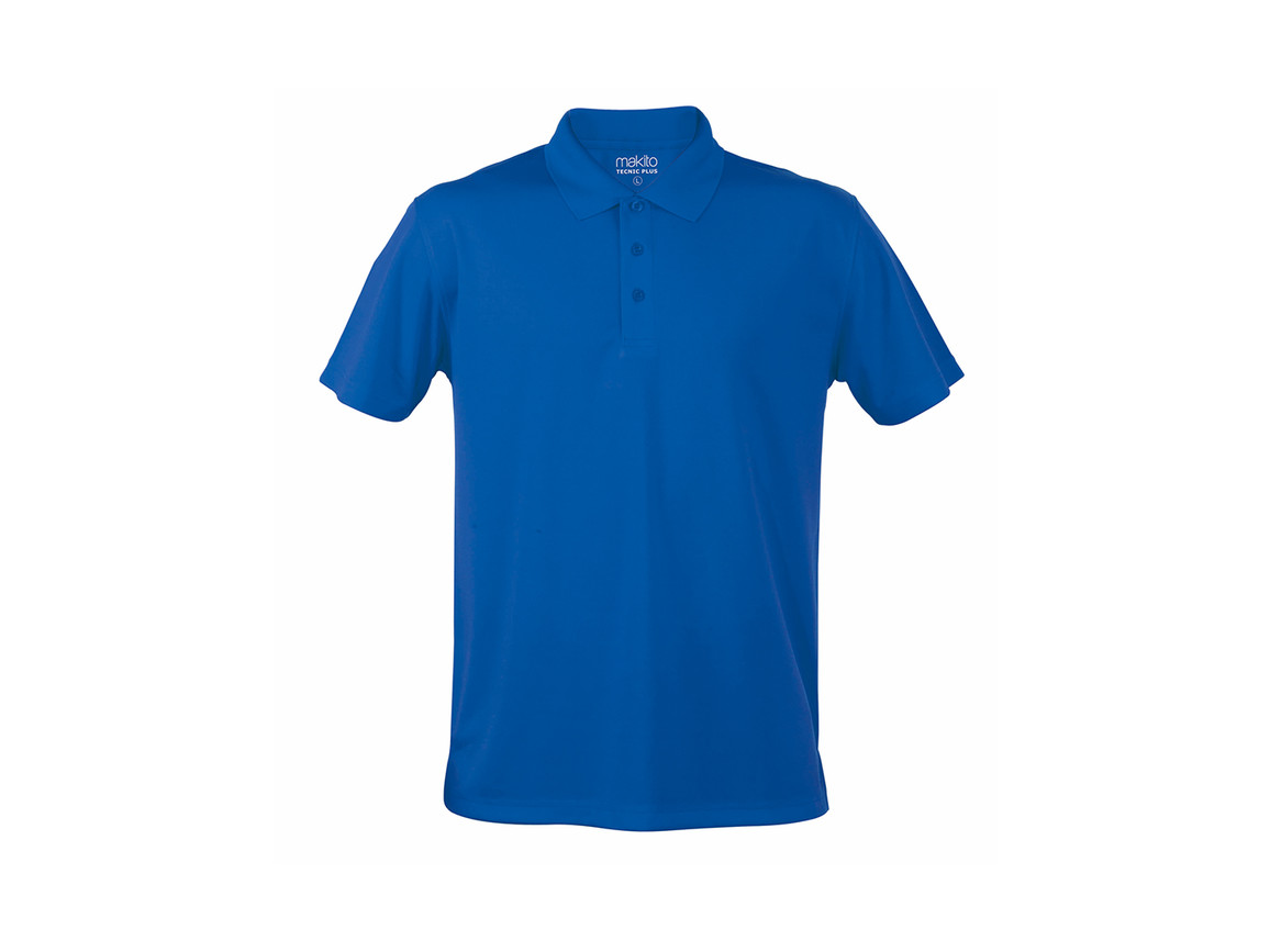 Tecnic Plus - Polo-Shirt - BLUE - XL bedrucken, Art.-Nr. 4187AZULXL