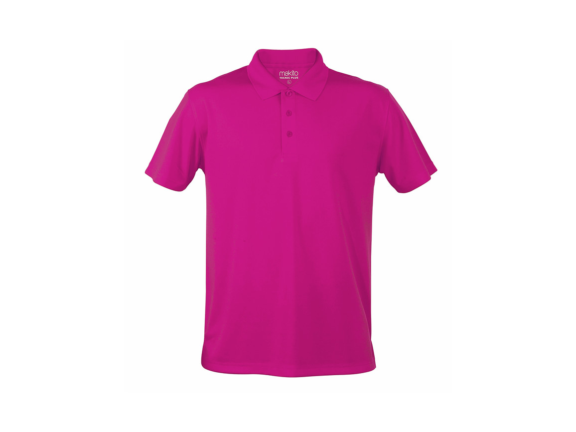 Tecnic Plus - Polo-Shirt - FUCSIA - M bedrucken, Art.-Nr. 4187FUCSIM