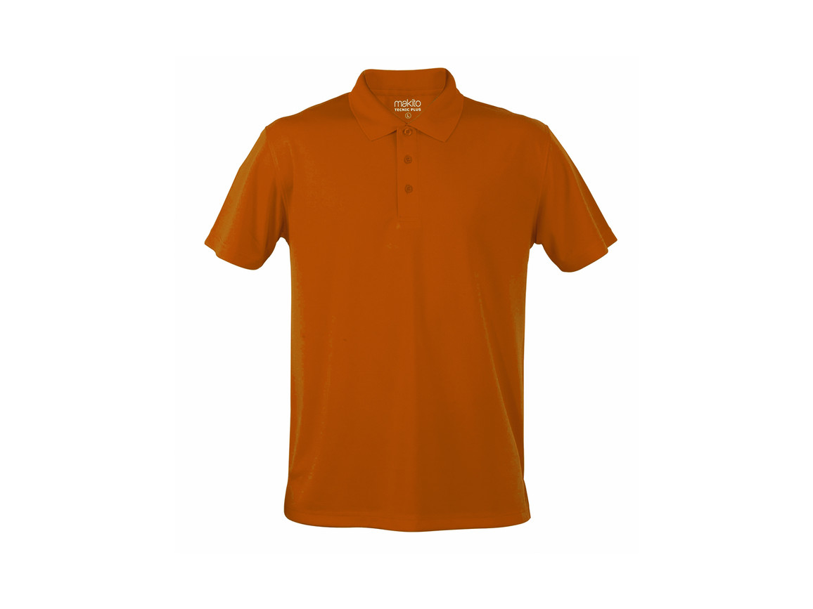 Tecnic Plus - Polo-Shirt - ORANGE - M bedrucken, Art.-Nr. 4187NARAM