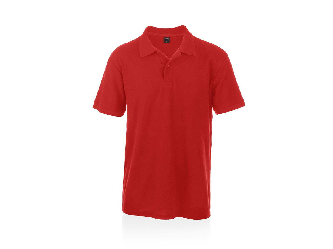 Bartel Color - Polo-Shirt - ROT - XL bedrucken, Art.-Nr. 4756ROJXL