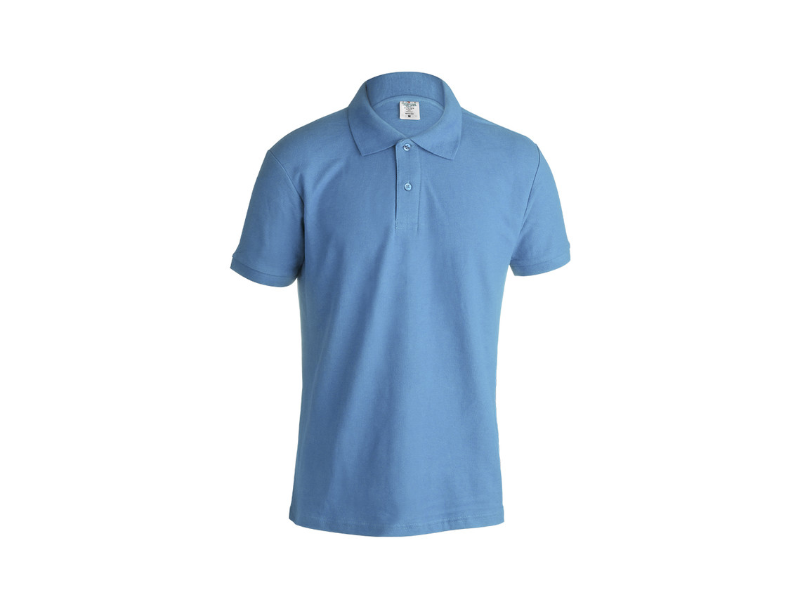 "MPS180 - Erwachsene Farbe Polo-Shirt ""keya"" - BLUE LIGHT - XL bedrucken, Art.-Nr. 5863AZCXL"