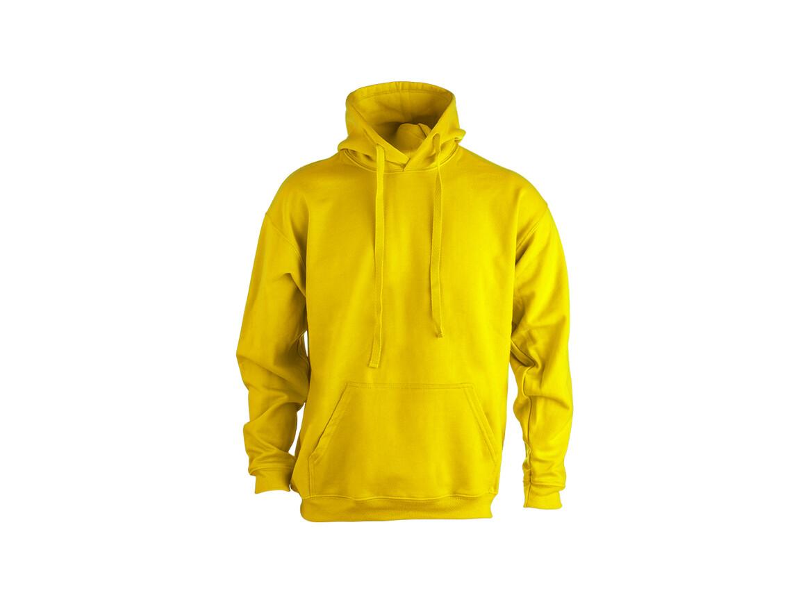 """SWP280 - Erwachsene Sweatshirt mit Kapuze """"keya"""" - YELLOW - S bedrucken, Art.-Nr. 5865AMAS"""