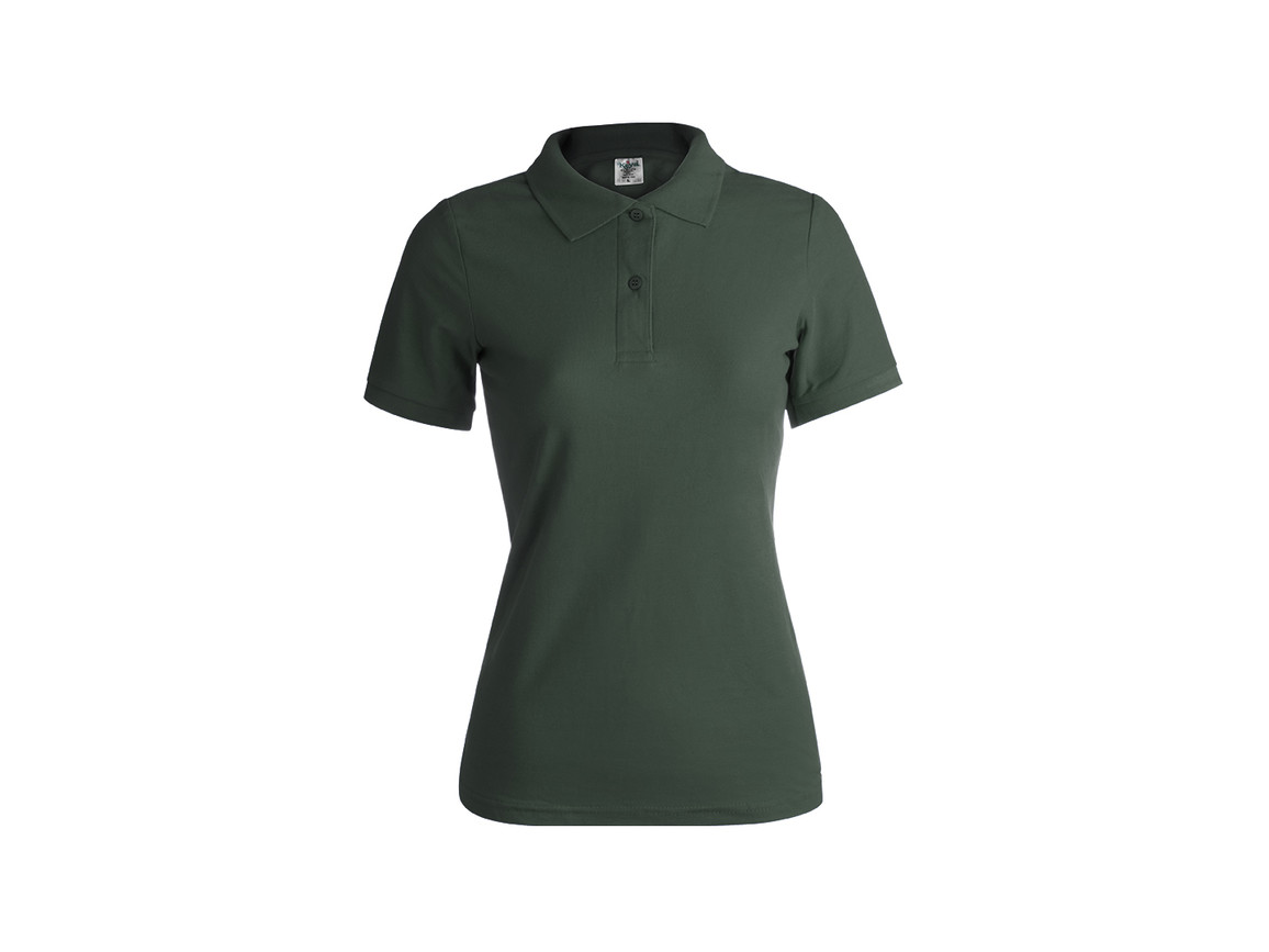 "WPS180 - Frauen Farbe Polo-Shirt ""keya"" - BOTTLE GREEN - L bedrucken, Art.-Nr. 5872VEBL"