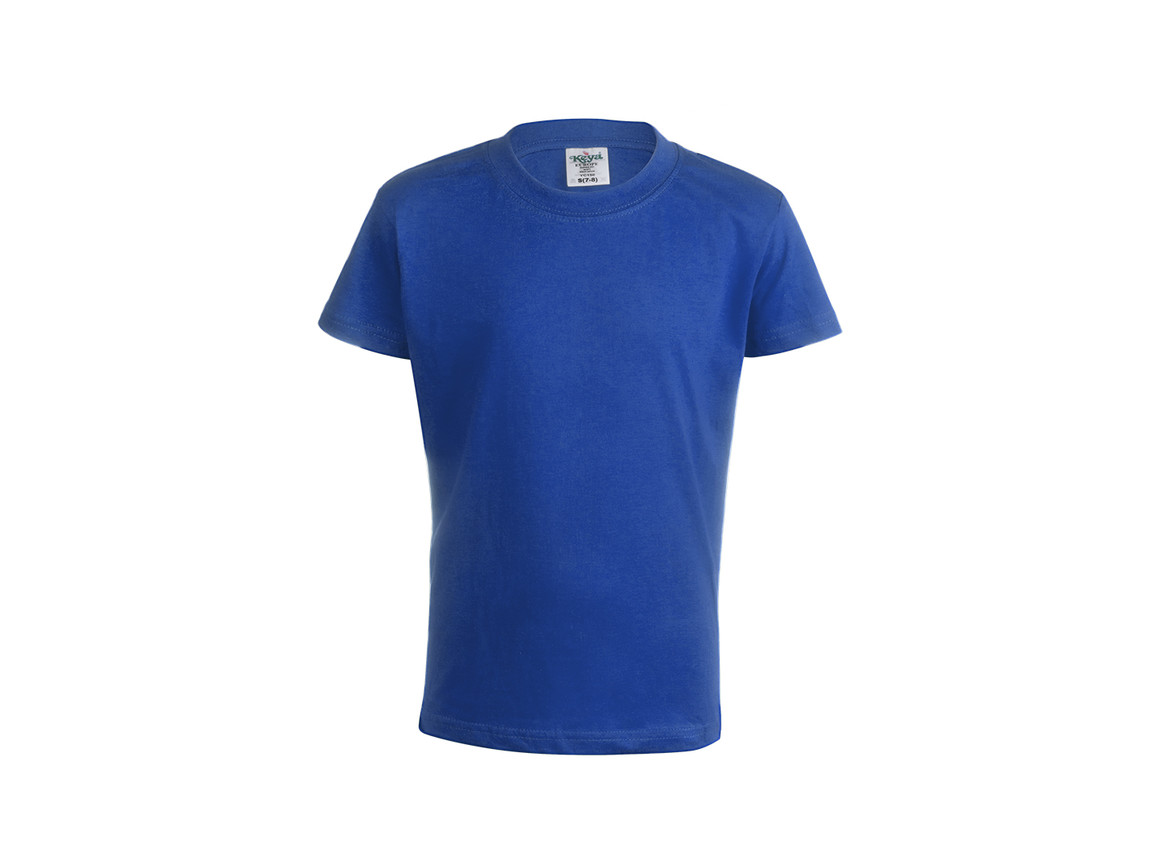 "YC150 - Kinder Farbe T-Shirt ""keya"" - BLUE - XL bedrucken, Art.-Nr. 5874AZULXL"