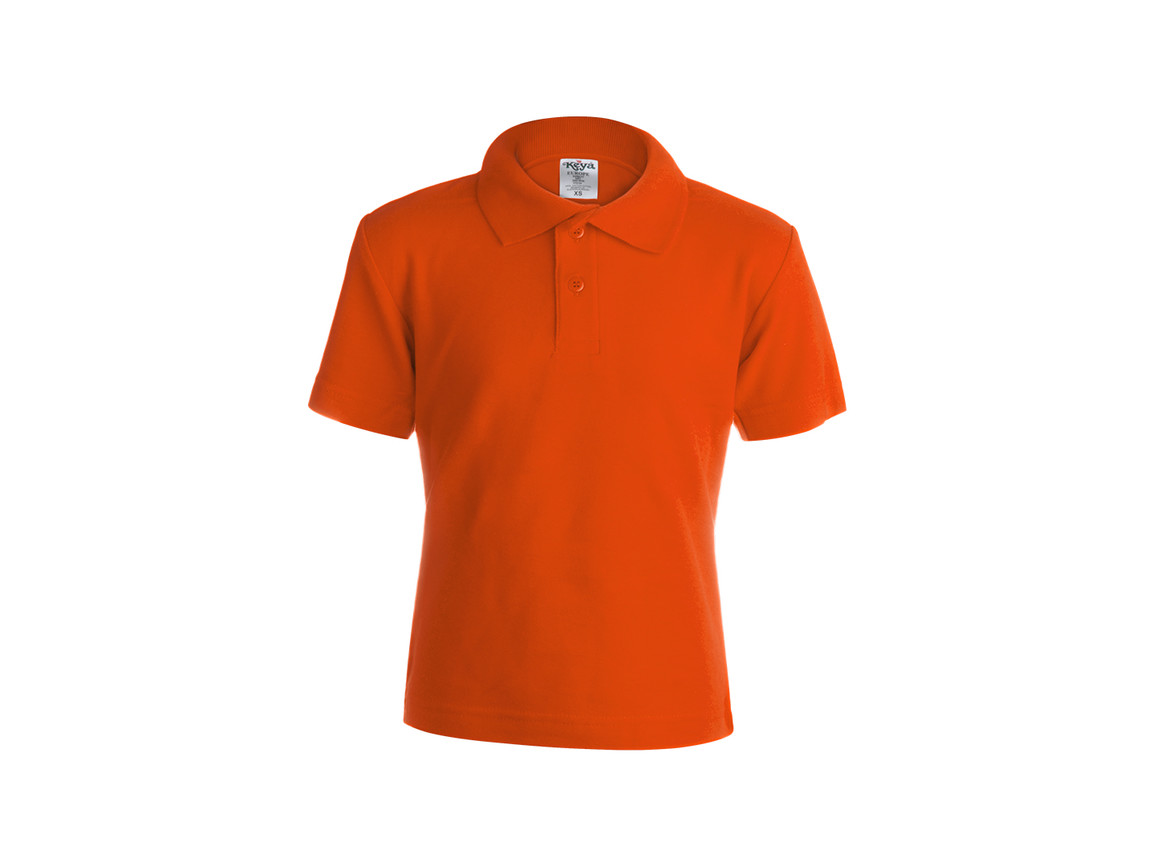"YPS180 - Kinder Farbe Polo-Shirt ""keya"" - ORANGE - XS bedrucken, Art.-Nr. 5876NARAXS"