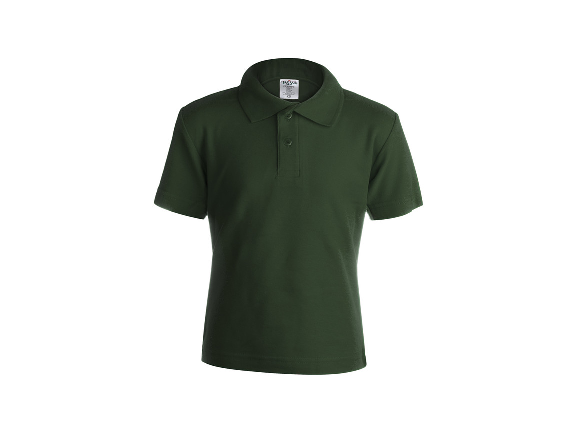 "YPS180 - Kinder Farbe Polo-Shirt ""keya"" - BOTTLE GREEN - S bedrucken, Art.-Nr. 5876VEBS"