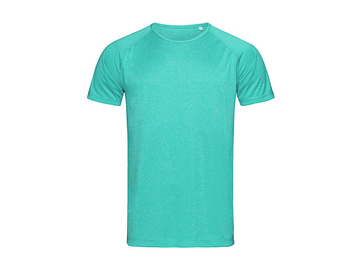 Stedman Active Performance Raglan, Turquoise, M bedrucken, Art.-Nr. 111055364