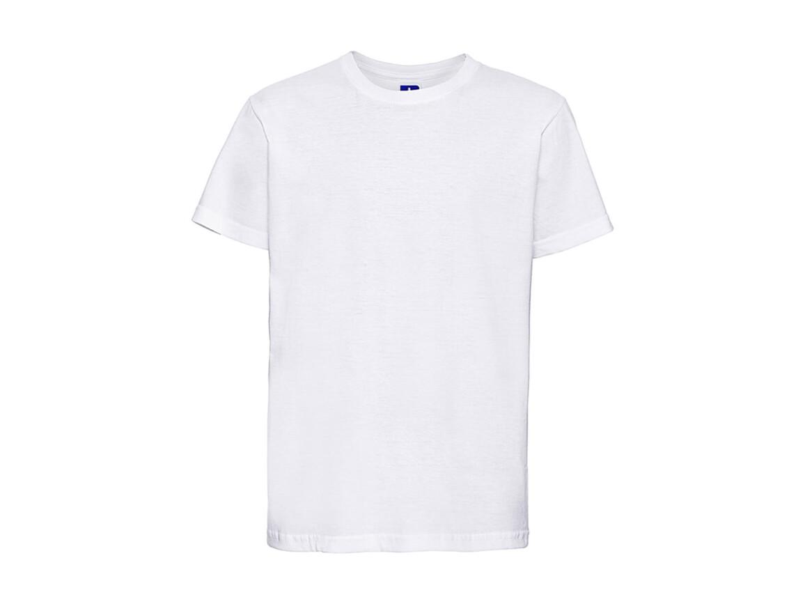 Russell Europe Kids Slim T-Shirt, White, L (128/7-8) bedrucken, Art.-Nr. 112000005