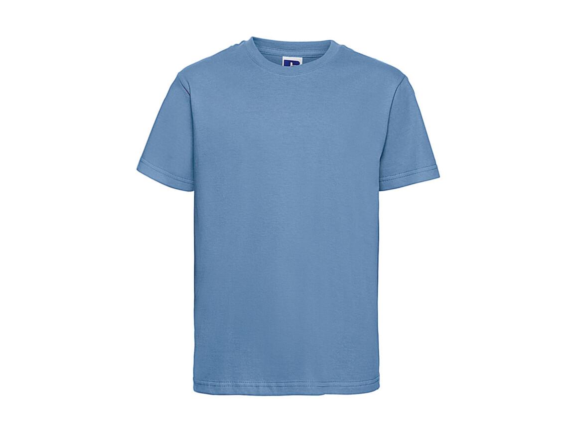 Russell Europe Kids Slim T-Shirt, Sky, M (116/5-6) bedrucken, Art.-Nr. 112003204
