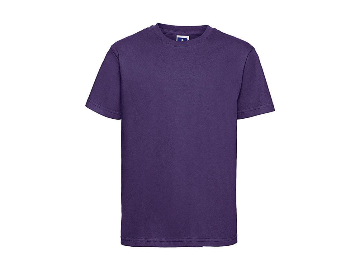 Russell Europe Kids Slim T-Shirt, Purple, S (104/3-4) bedrucken, Art.-Nr. 112003493