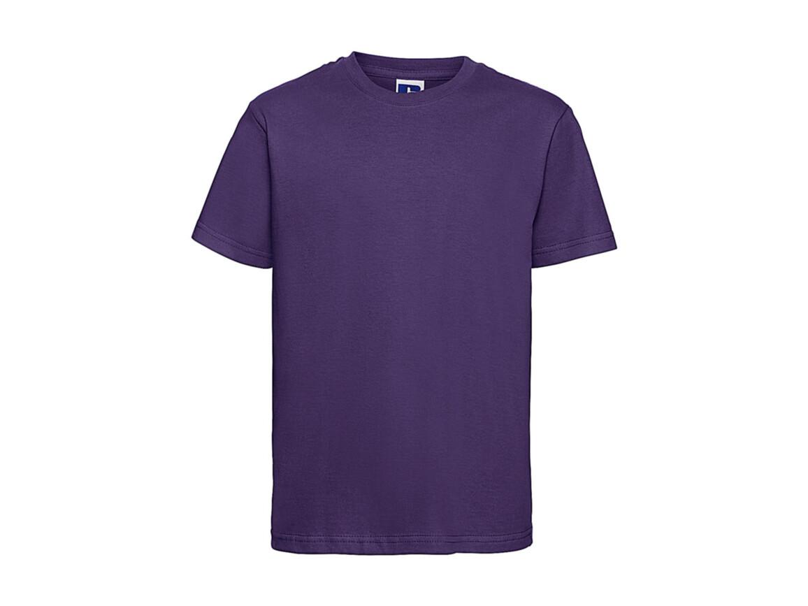 Russell Europe Kids Slim T-Shirt, Purple, XS (34) bedrucken, Art.-Nr. 112003492