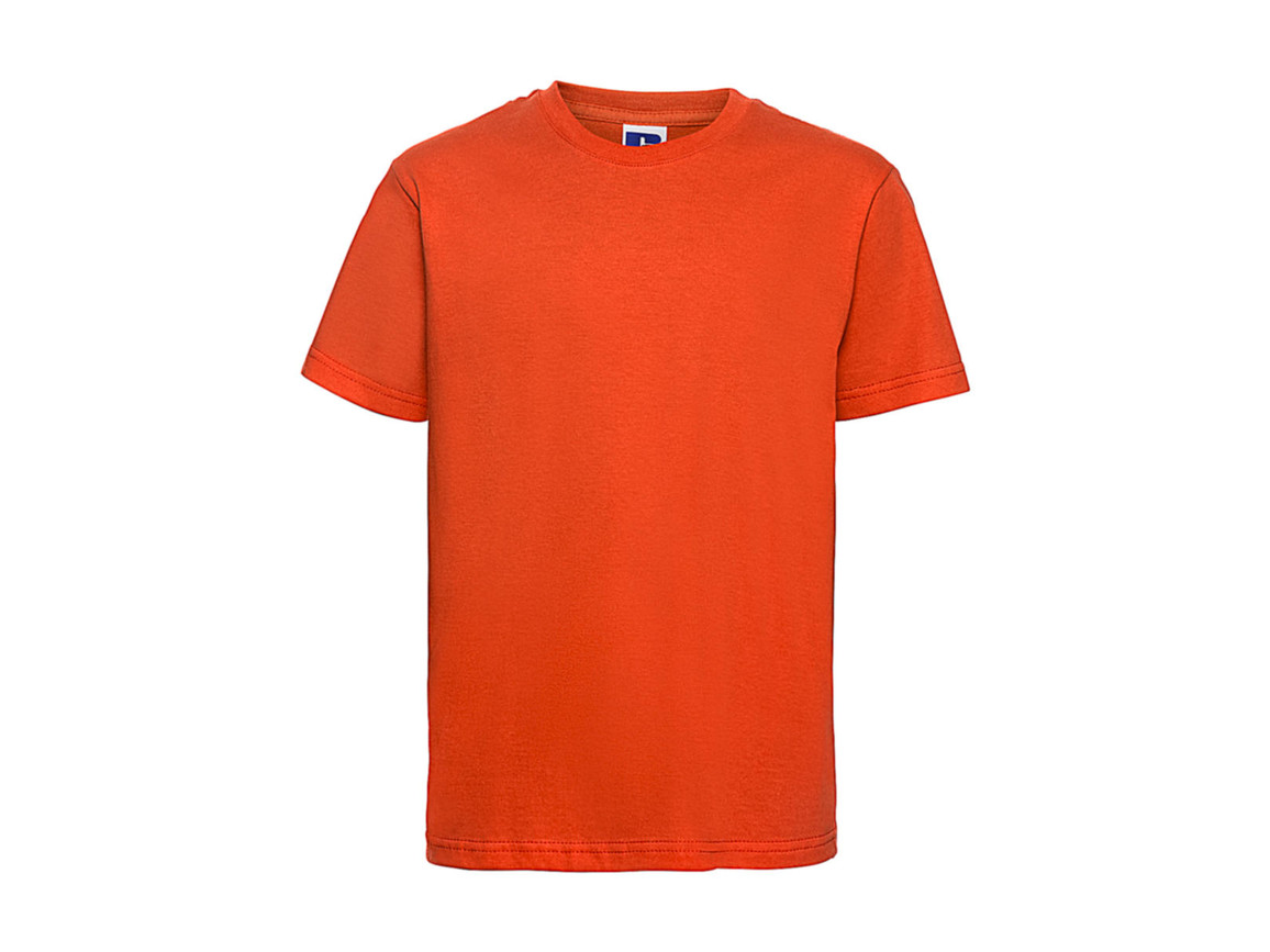 Russell Europe Kids Slim T-Shirt, Orange, XS (34) bedrucken, Art.-Nr. 112004102