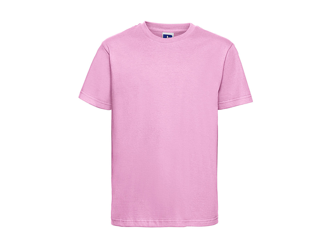 Russell Europe Kids Slim T-Shirt, Candy Pink, 2XL (152/11-12) bedrucken, Art.-Nr. 112004227