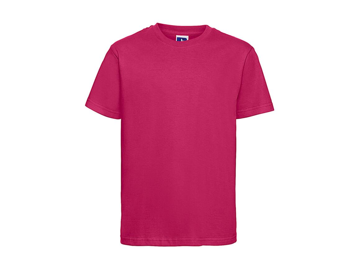 Russell Europe Kids Slim T-Shirt, Fuchsia, M (116/5-6) bedrucken, Art.-Nr. 112004394