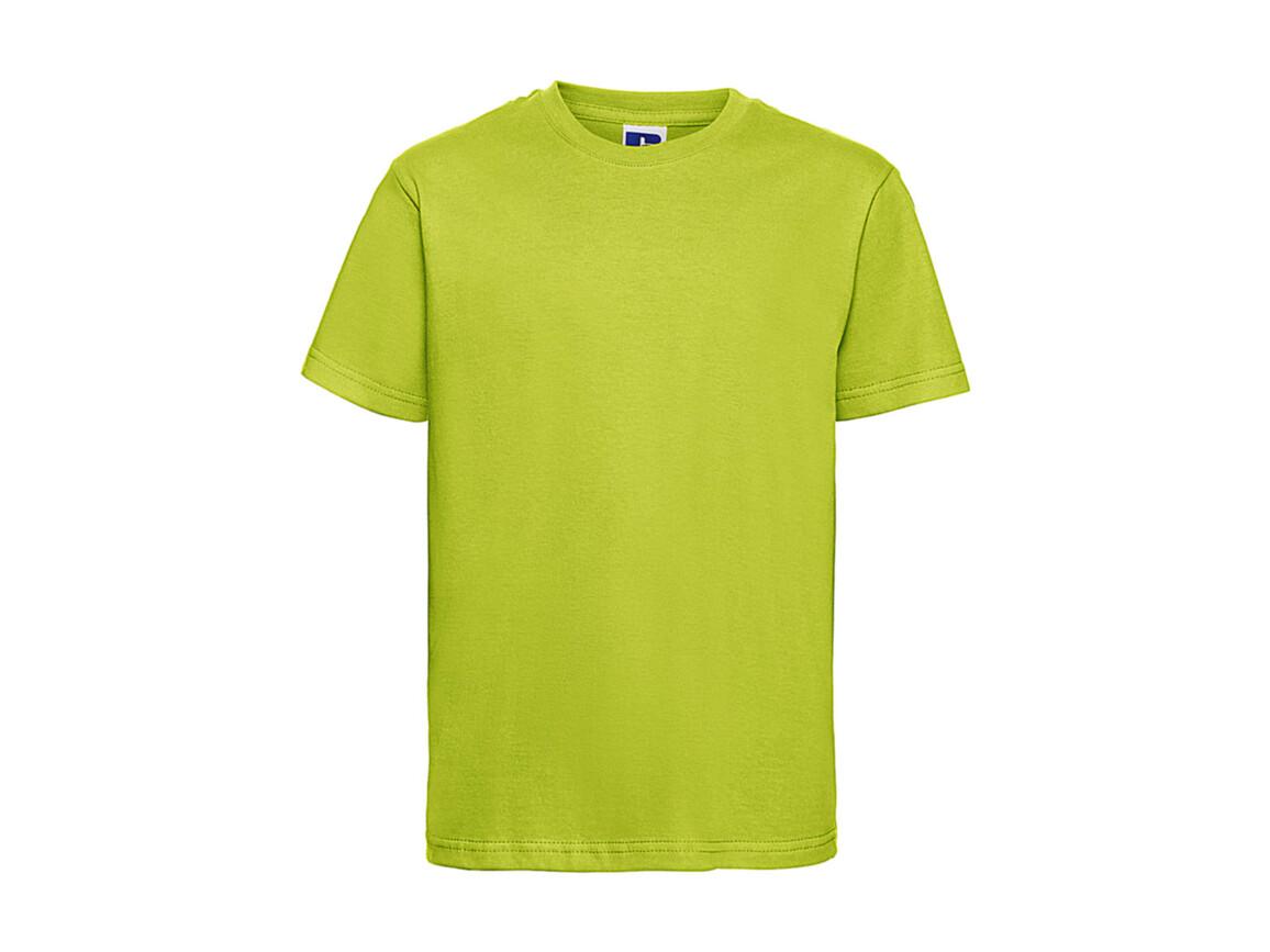 Russell Europe Kids Slim T-Shirt, Lime, 3XL (164/13-14) bedrucken, Art.-Nr. 112005218