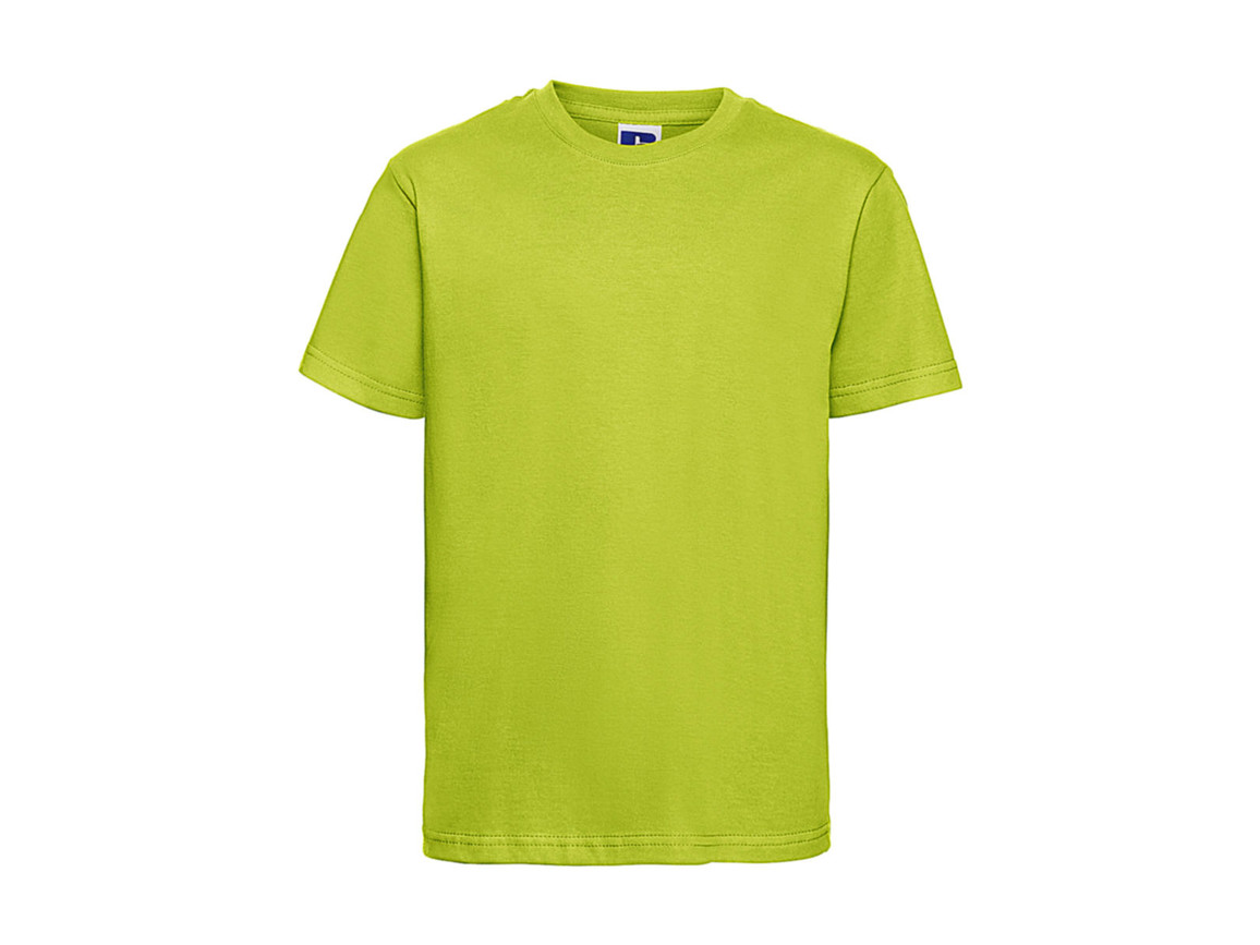 Russell Europe Kids Slim T-Shirt, Lime, XS (34) bedrucken, Art.-Nr. 112005212