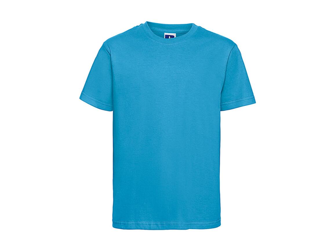 Russell Europe Kids Slim T-Shirt, Turquoise, S (104/3-4) bedrucken, Art.-Nr. 112005363