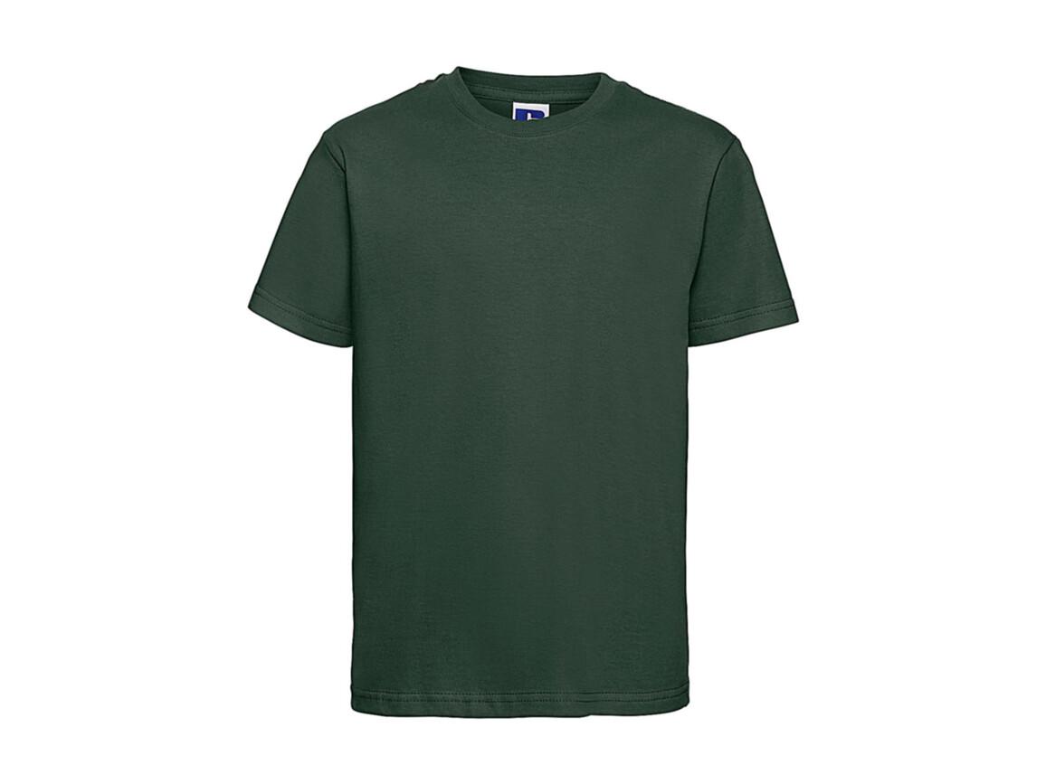 Russell Europe Kids Slim T-Shirt, Bottle Green, M (116/5-6) bedrucken, Art.-Nr. 112005404