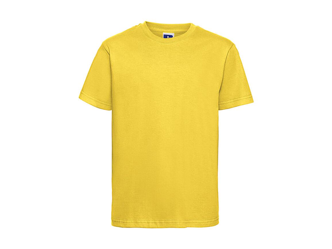 Russell Europe Kids Slim T-Shirt, Yellow, 3XL (164/13-14) bedrucken, Art.-Nr. 112006008