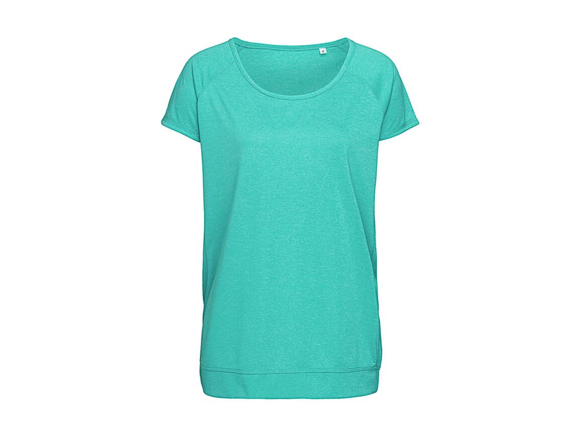 Stedman Active Performance Raglan Women, Turquoise, XL bedrucken, Art.-Nr. 112055366