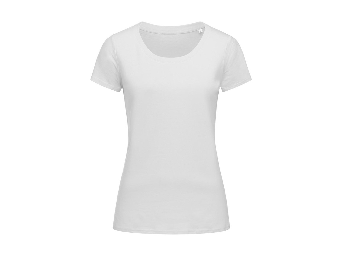 Stedman Janet Crew Neck Women, White, XL bedrucken, Art.-Nr. 113050006