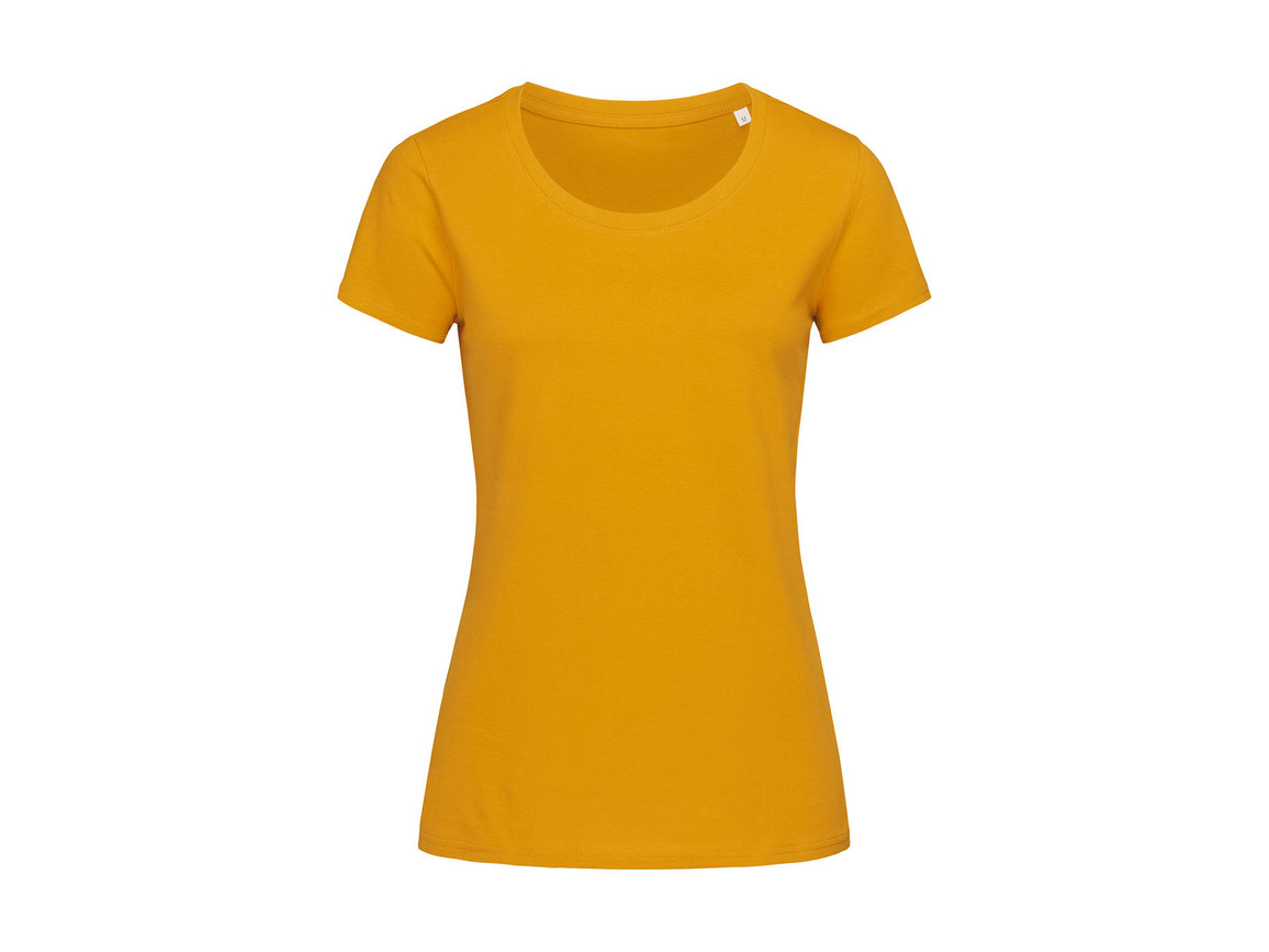 Stedman Janet Crew Neck Women, Indian Yellow, L bedrucken, Art.-Nr. 113056105