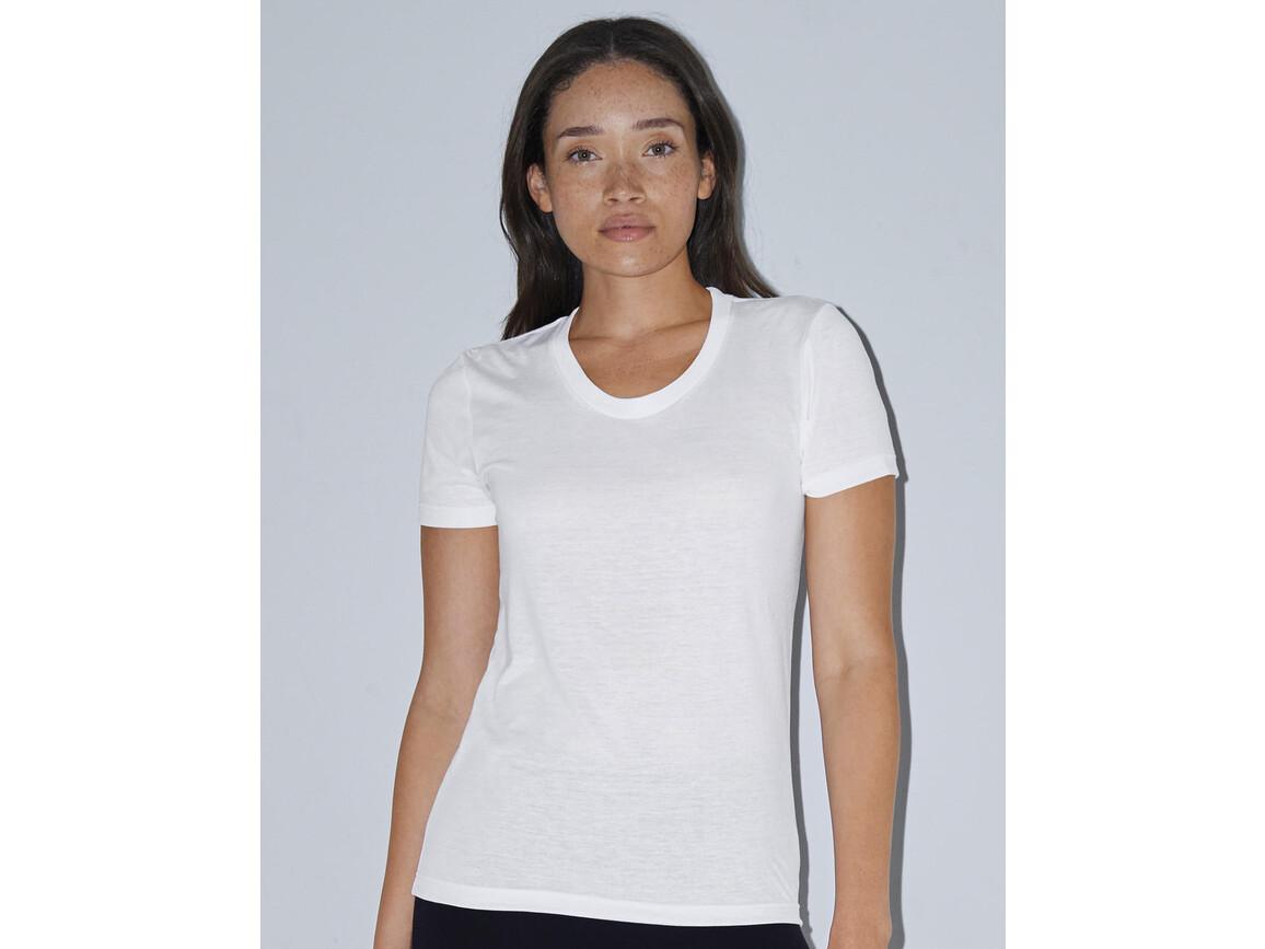 American Apparel Women`s Sublimation T-Shirt, White, S bedrucken, Art.-Nr. 113070003