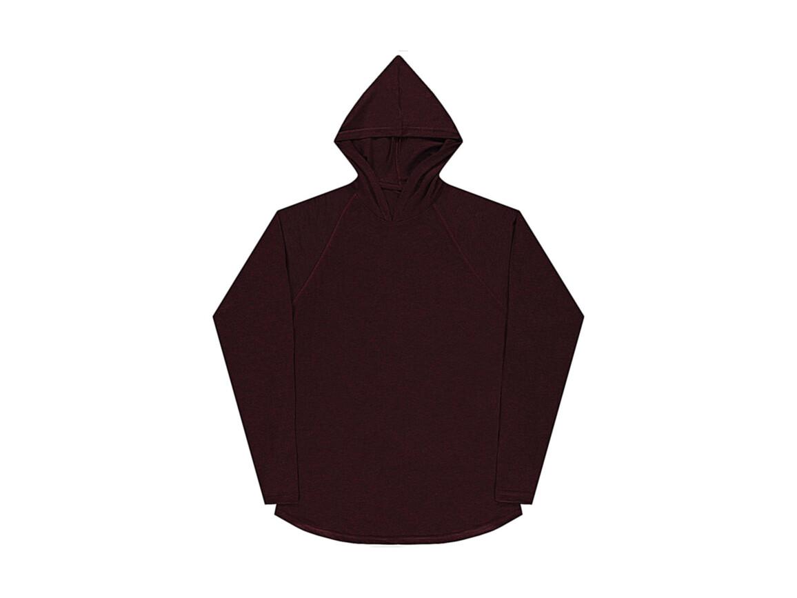 nakedshirt Cecil Unisex LS Hooded T-Shirt, Doubledyed Flame, XS bedrucken, Art.-Nr. 113854092